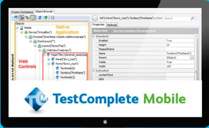 TestComplete Mobile